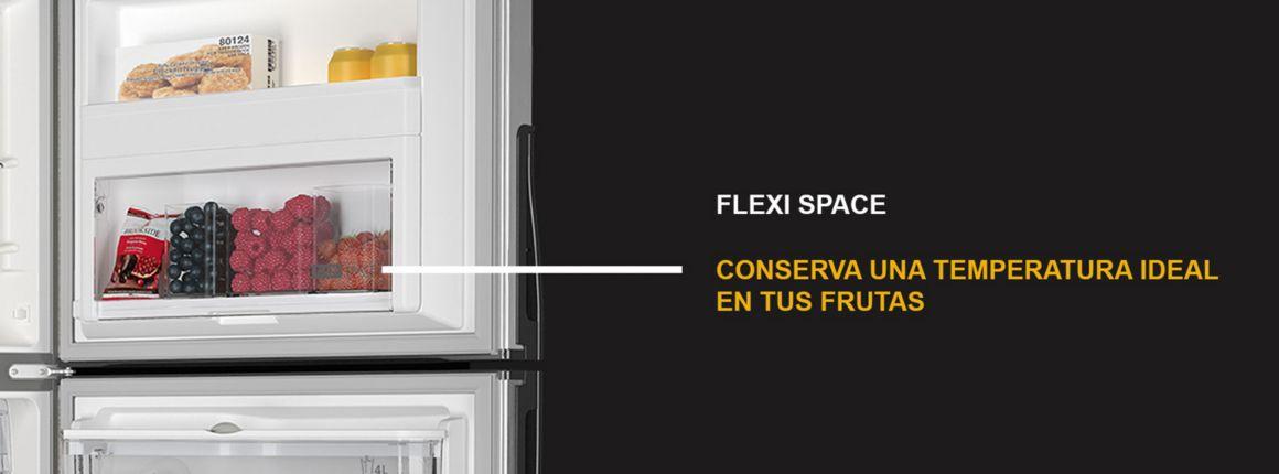 FLEXI SPACE Espacios especializados con mejor capacidad de conservación.