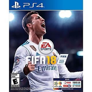 JUEGO PS4 FIFA 18 ESTANDAR