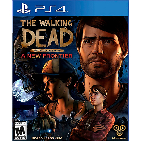 Videojuego The walking Dead a New Frontier
