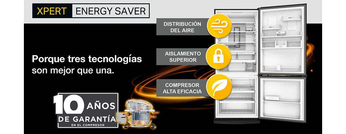 Xpert Energy Saver la mejor tecnología en ahorro de Whirlpool