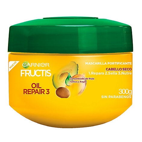 Tratamiento Fructis Oil Repair 3+ 300gr