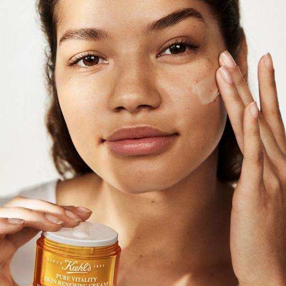 crema, pure vitality, pure vitaliti, miel, tratamiento