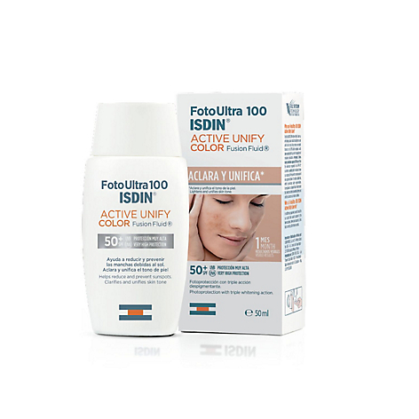 Fotoprotector-Active Unify Fusion Fluid Color SPF 50