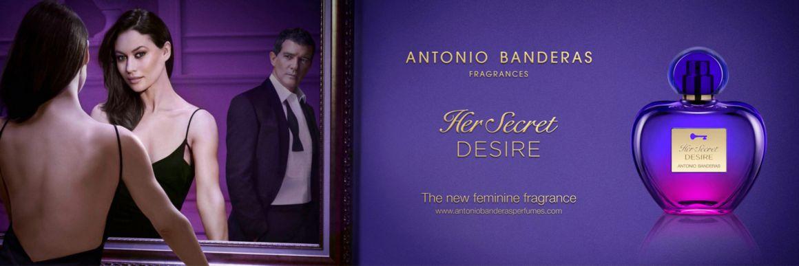 Antonio Banderas, Her Secret  Desire, desire, mujer,  colonia, perfume
