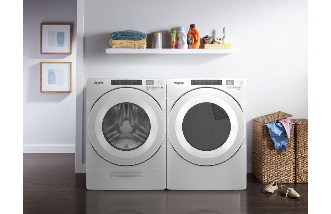 Lavadora Load&Go de 18 Kg color Blanco