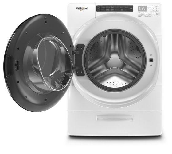 Abre la puerta a la automatización del lavado con carga de 18 Kg Whirlpool Load&Go