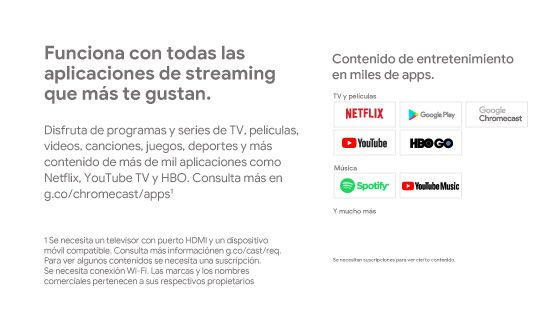 Netflix, Youtube, apps