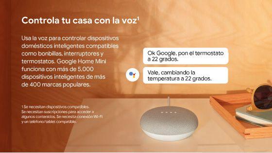 Google Home mini, Asistente de Voz, google home, comandos de voz, asistente, comodidad en el hogar, hogar inteligente