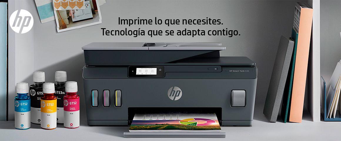Multifuncional HP Smart Tank 615, imprime lo que necesites. Tecnología que se adapta contigo.