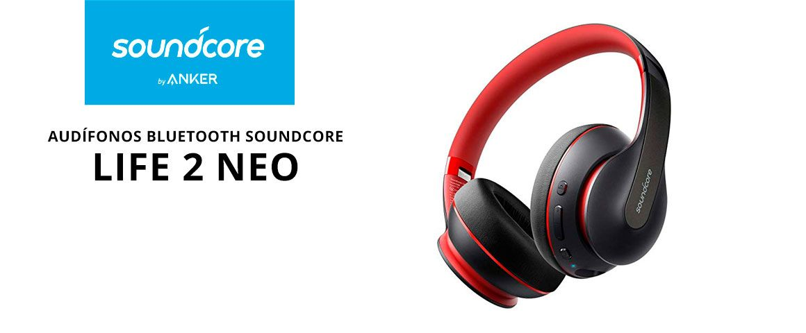 Audifonos Bluetooth Soundcore Life 2 Neo
