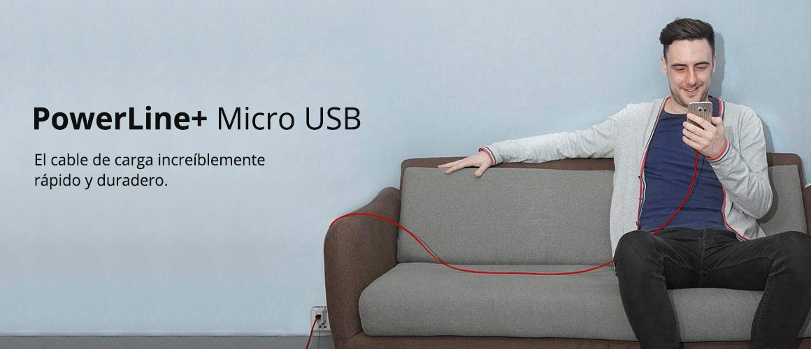 ANKER CABLE MICRO USB 1.8M