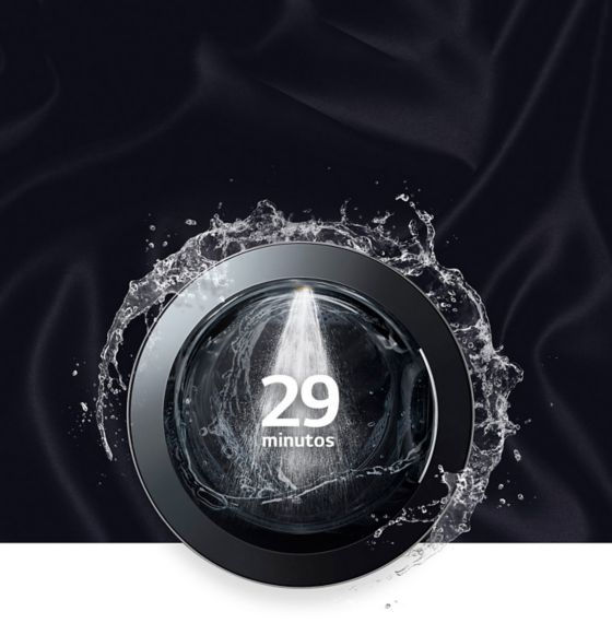Lava tu ropa en 29 minutos.
