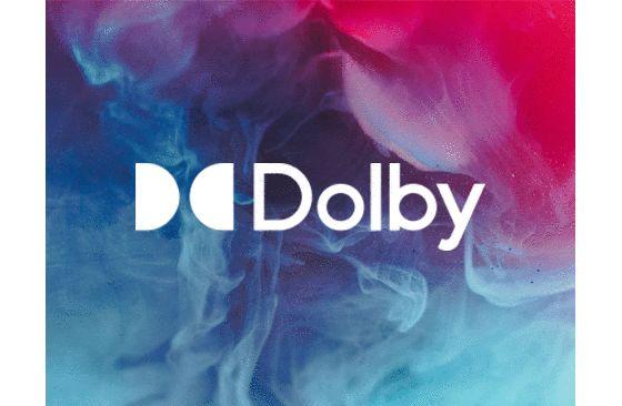 Logo de dolby vision JVC