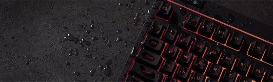 teclado, anti derrames, hyperx, gaming
