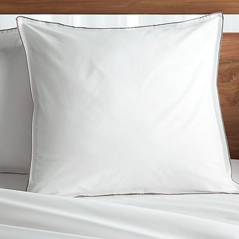 Funda de Almohada Haven Grey Euro Sham
