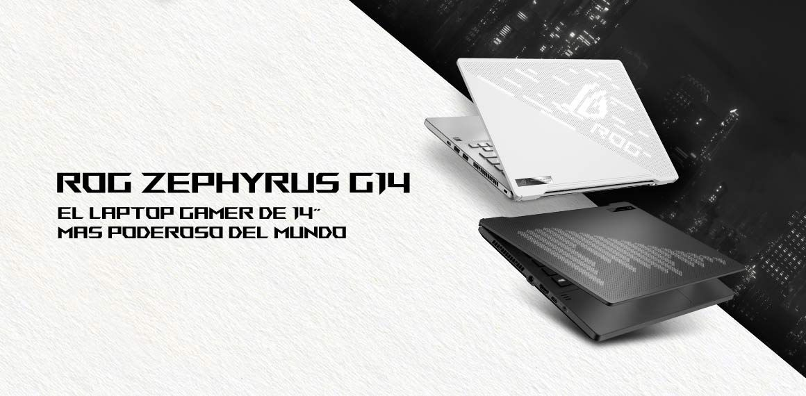 Asus PC Gamer Asus ROG Zephyrus G14 GA401IV-HA116T 14 pulgadas - Falabella.com