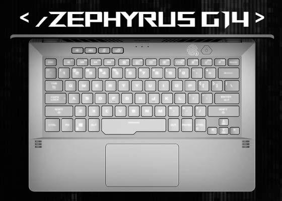 Teclado Zephyrus G14