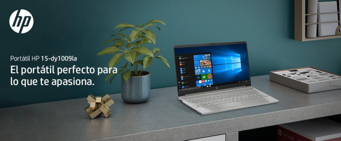 Portátil HP 15-dy1009la, perfecto para lo que te apasiona