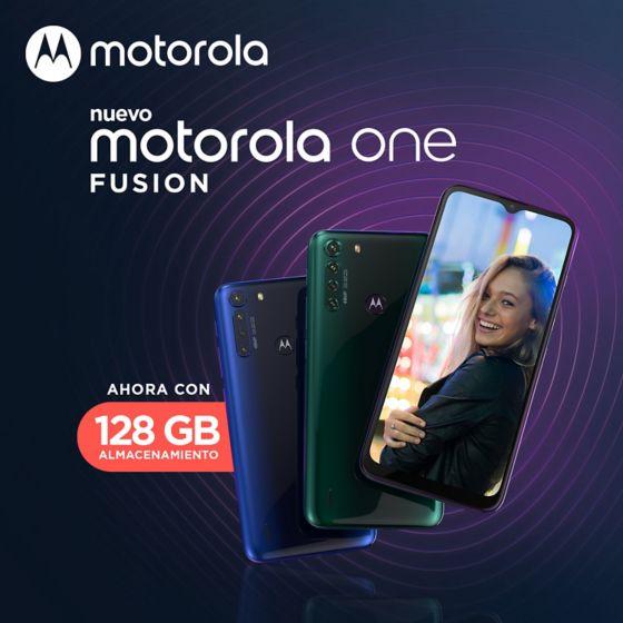 Motorola One Fusion smartphone