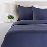 Duvet Navy Lino Queen