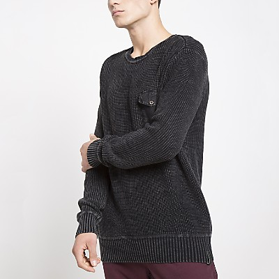Sweater Manga Larga Liso