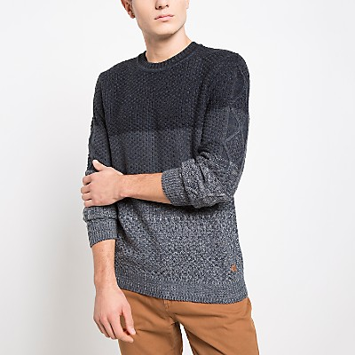 Sweater Manga Larga Rayas