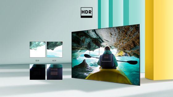 HISENSE TV Imagen con mejores detalles HDR