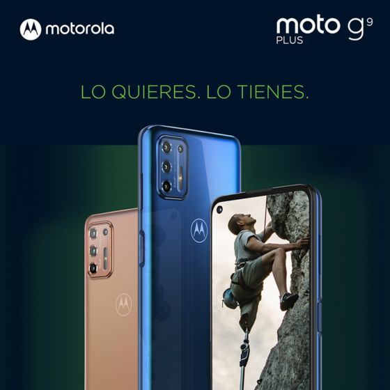 Moto G9 Plus celular