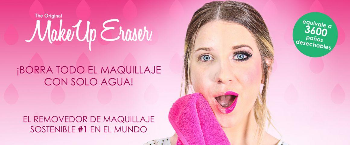 MakeUp Eraser, makeup, maquillaje, removedor de maquillaje, toalla desmaquillante, modelo makeup,