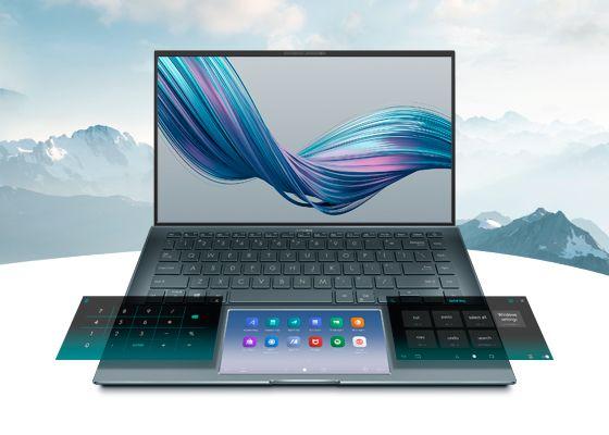 ScreenPad ZenBook 14 UX435