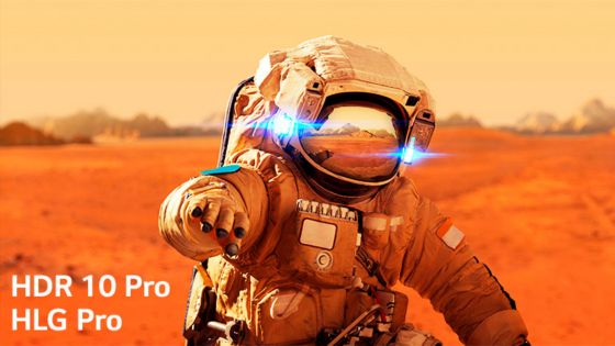 HDR 10 Pro & HLG Pro