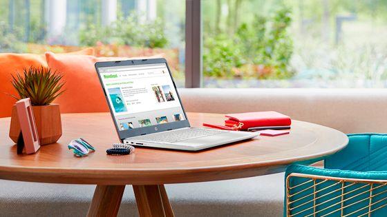 Portátil  HP 14-cf2080la diseño que va contigo