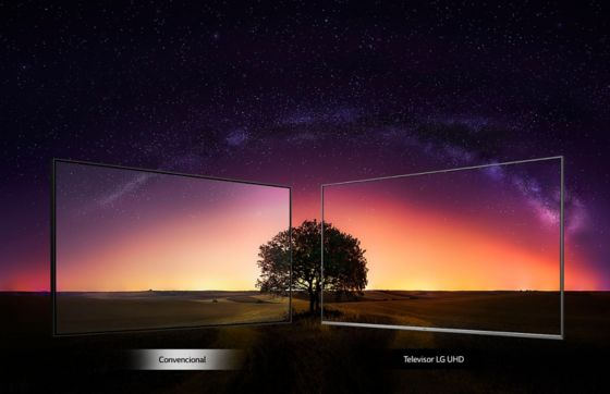 LG TV Ángulo perfecto