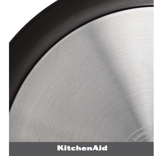 Características de uso de la Olla Antiadherente de 3 Lts de KitchenAid