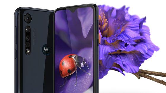 Motorola One Macro smartphone