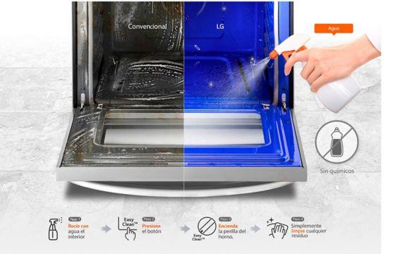 Limpia sin Químicos estufas LG