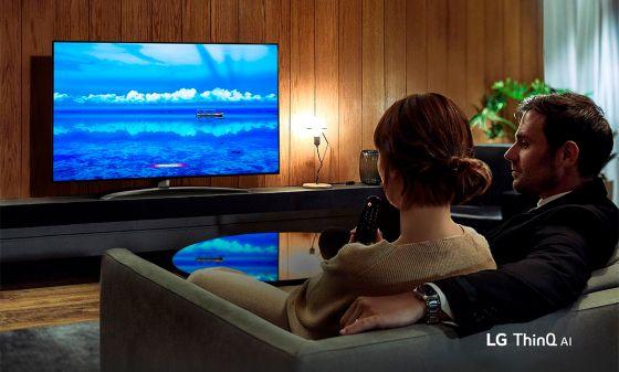 LG AI TV con inteligencia Artificial NanoCell