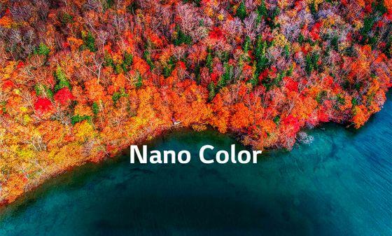 Colores puros con NanoCell TV de LG