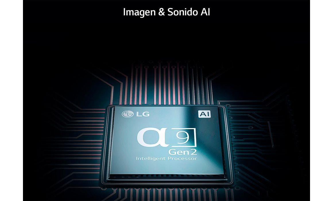 El procesador ¿9 Gen 2 LG OLED TV