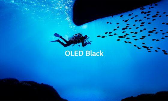 El negro perfecto LG OLED TV