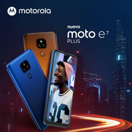 Moto E7 Plus celular