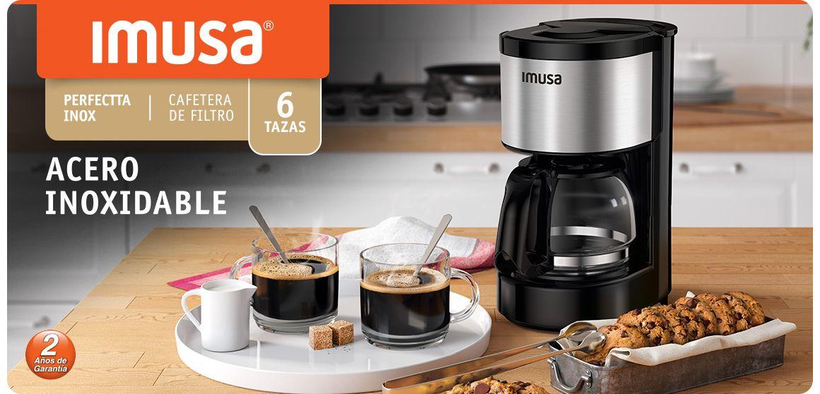 CAFETERA PERFECTTA INOX PARA 6 TAZAS