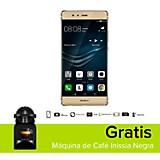 Combo P9 Plus Dorado Celular Libre + M�quina de Caf� Inissia Negra