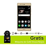 Combo P9 Dorado Celular Libre + M�quina de Caf� Inissia Negra