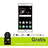 Combo P9 Plateado Celular Libre + M�quina de Caf� Inissia Negra