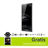 Combo Mate 8 Celular Libre Gris + Cafetera Inissia Blanca