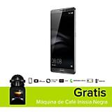Combo Mate 8 Celular Libre Gris + M�quina de Caf� Inissia Negra
