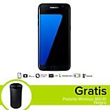 Combo Galaxy S7 Edge LTE Negro Celular Libre + Parlante Wireless 360 R1 Negro