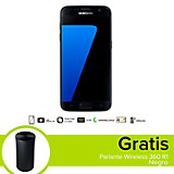 Combo Galaxy S7 LTE Negro Celular Libre + Parlante Wireless 360 R1 Negro