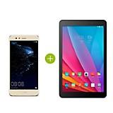 P10 Lite Dorado + Tablet 7